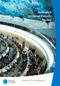 AHRC Australia's Universal Periodic Review 2012
